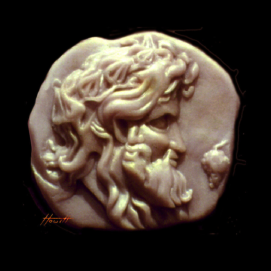 Dionysos Sculpture - Dionysus by Patricia Howitt