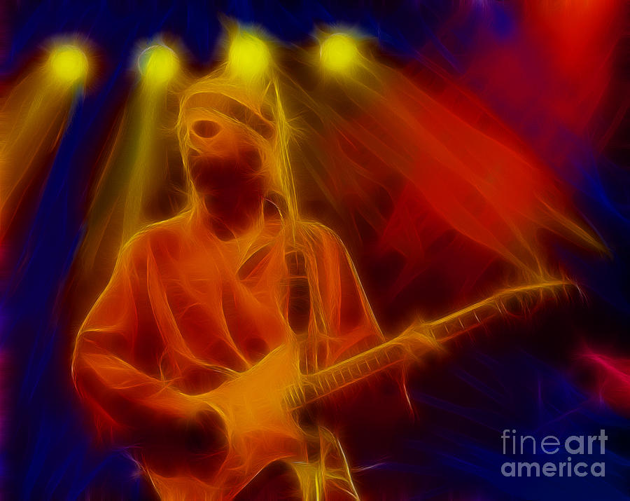 Dire Straits Photograph - Dire Straits-4-fractal by Gary Gingrich Galleries