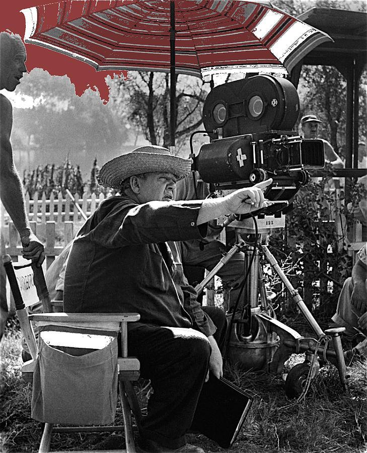 Director Charles Laughton Night Of The Hunter Set 1954-2014 Photograph