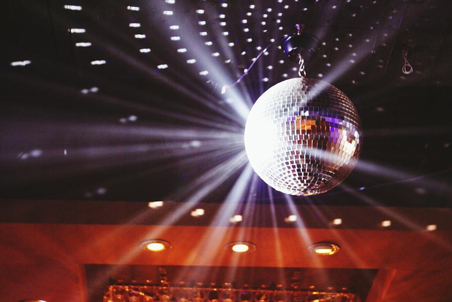 Disco Ball At Illuminated Nightclub Photograph by Shaun Wang / Eyeem