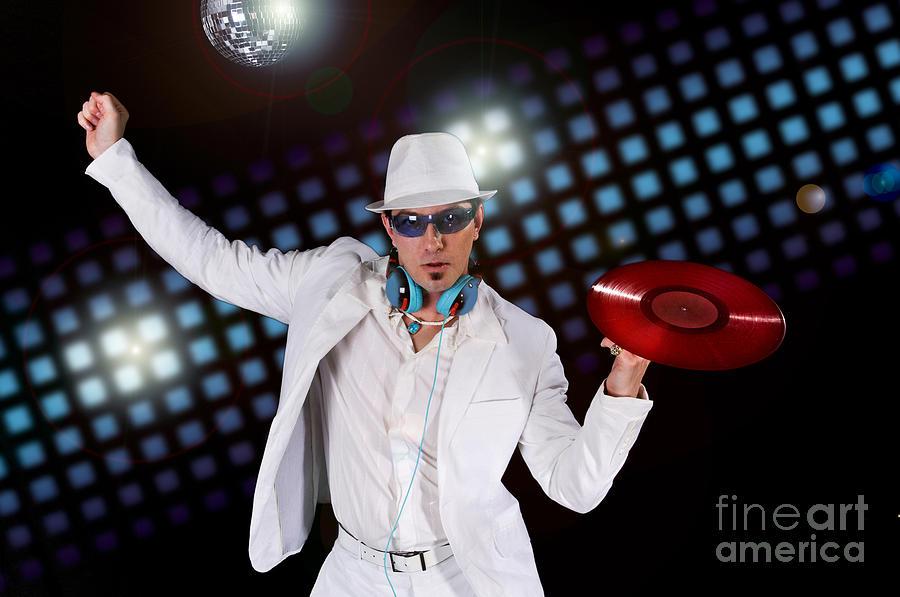 Disco Photograph - Disco Dj by Jt PhotoDesign