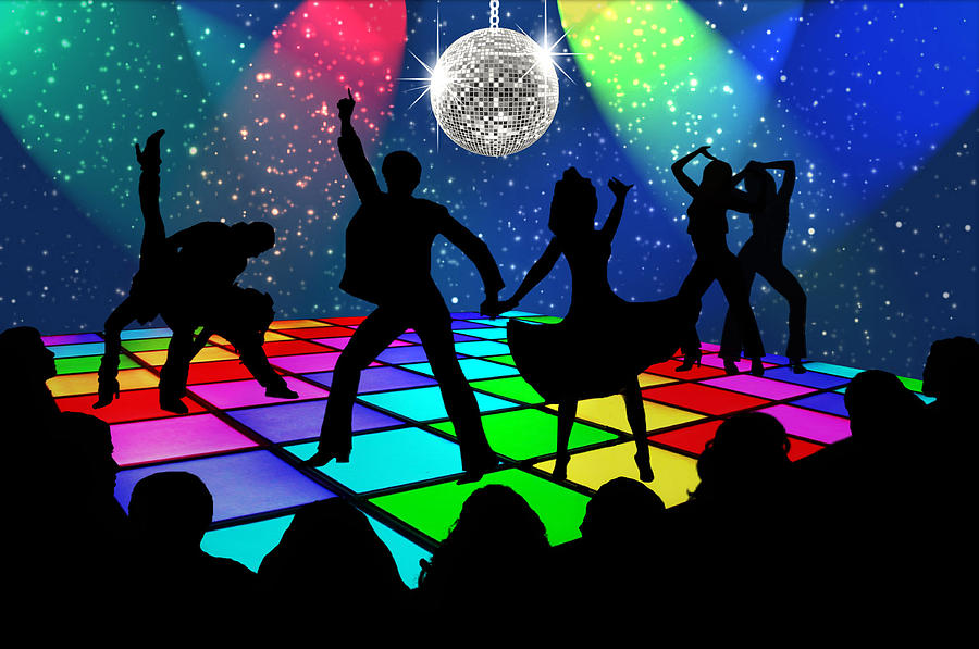 Disco Digital Art - Disco Fever by Nina Bradica