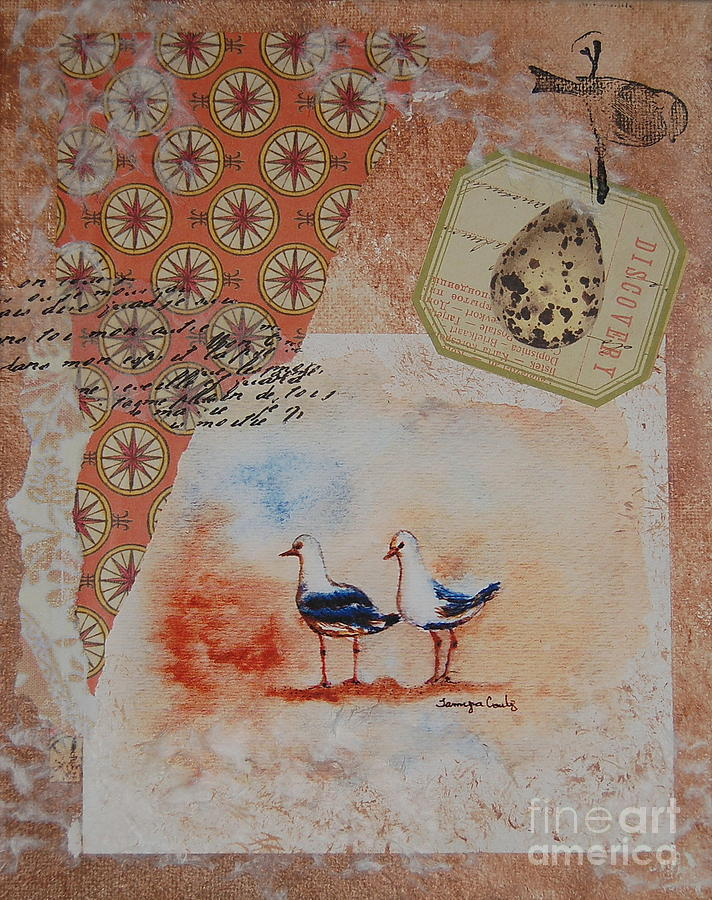 Discovery Painting - Discovery  by Tamyra Crossley