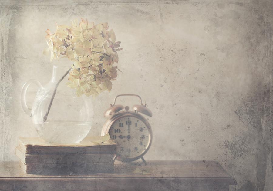 Still Life Photograph - Disillusionment Of Nine Oa??clock by Delphine Devos