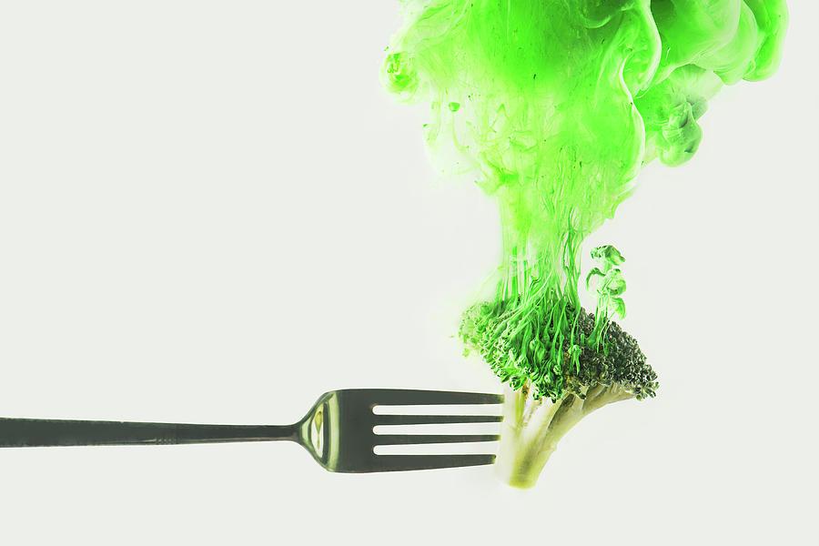 Disintegrated Broccoli Photograph by Dina Belenko Photography