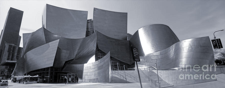 Frank Gehry Photograph - Disney Concert Hall - 02 by Gregory Dyer
