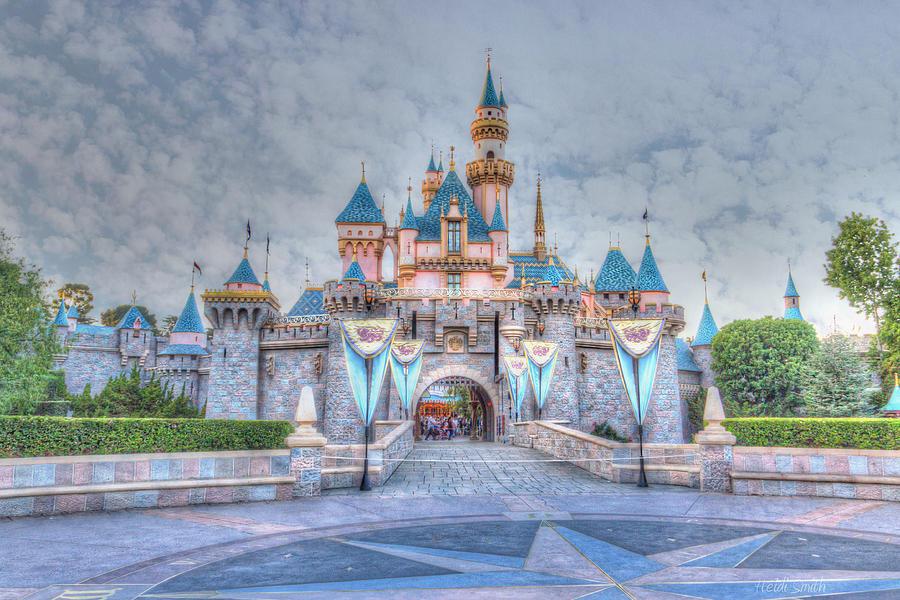 Sleeping Beauty Photograph - Disney Magic by Heidi Smith