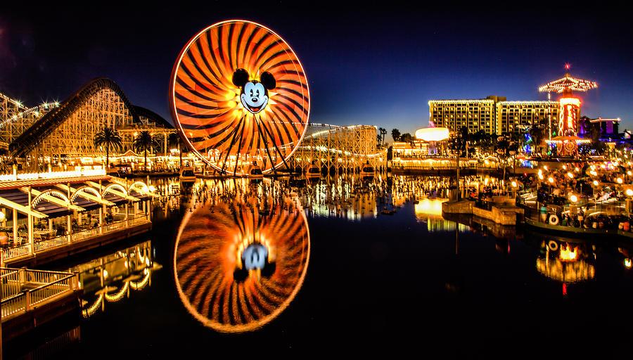 Entertainment Photograph - Disney Reflections by Robert  Aycock