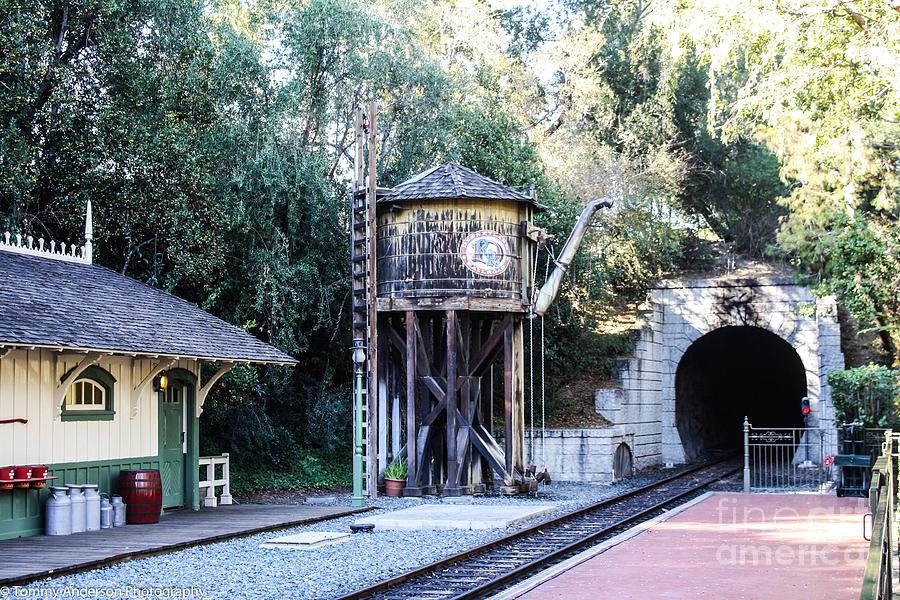 Disneyland Depot Photograph