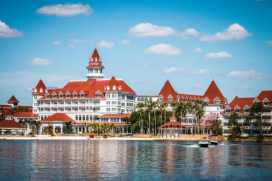 Grand Floridian Photograph - Disneys Grand Floridian Resort and Spa by Sara Frank