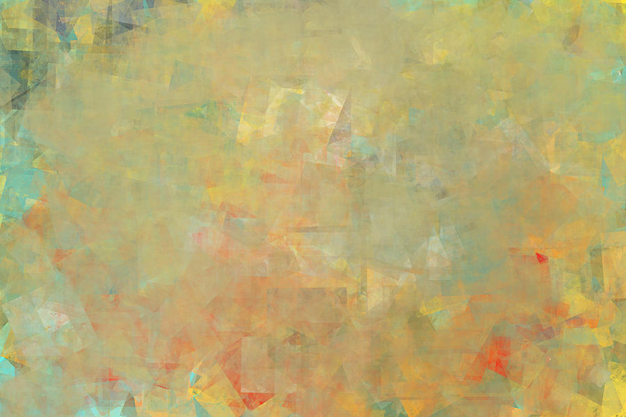 Abstract Expressionism Digital Art - Disorderly by Jeff Montgomery