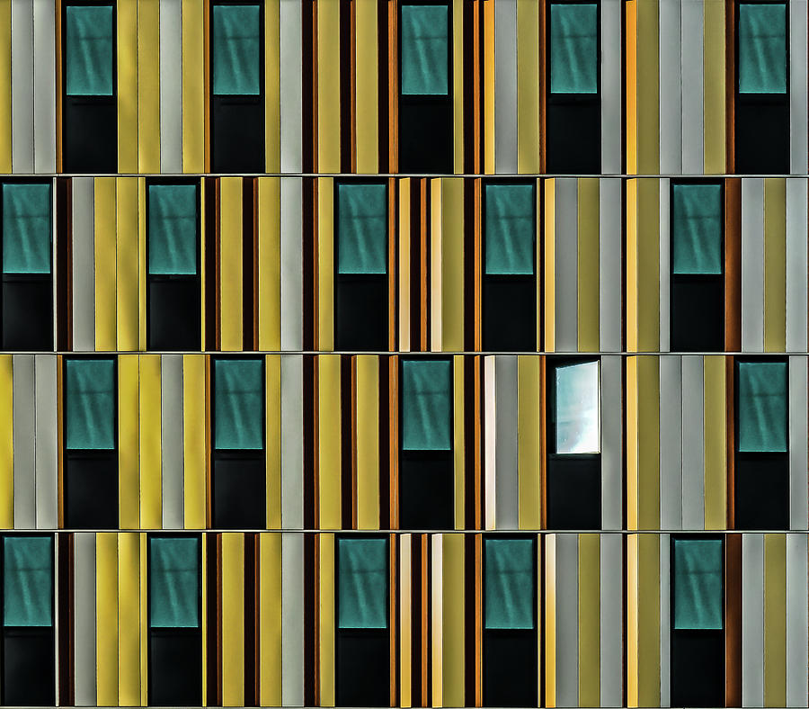 Dissident Window Photograph by Luc Vangindertael (lagrange)