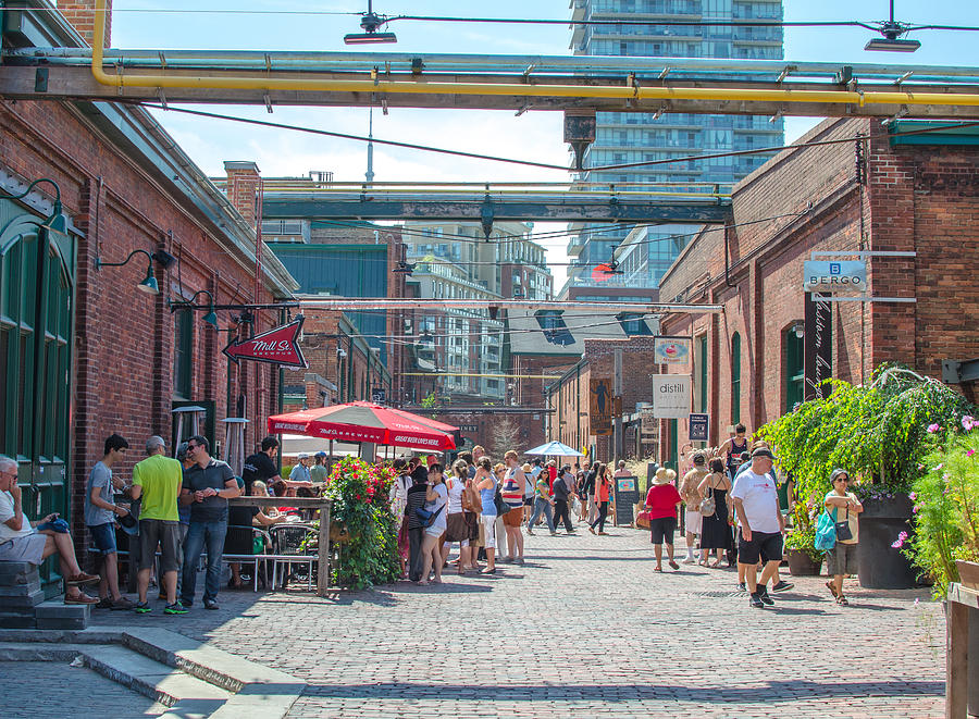 Beautiful Photograph - Distillery District by Eric Dewar
