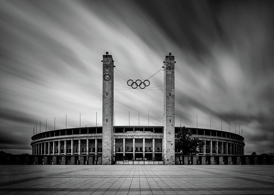Berlin Photograph - Disturbing Memories by Jan Rauwerdink