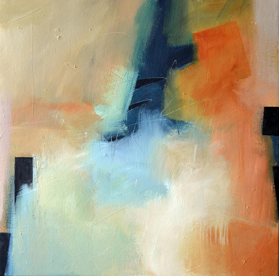 Abstract Painting - Divergent Convergence by Filomena Booth