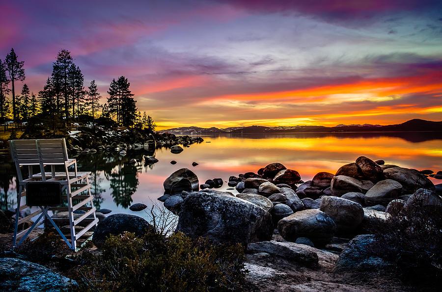 Lake Tahoe Photograph - Divers Cove Lake Tahoe by Scott McGuire