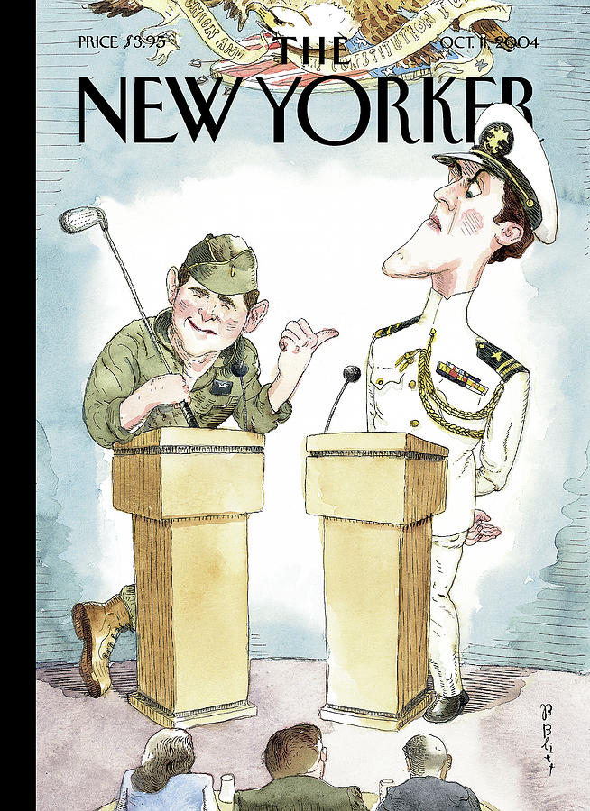 Diversionary Tactics Painting by Barry Blitt