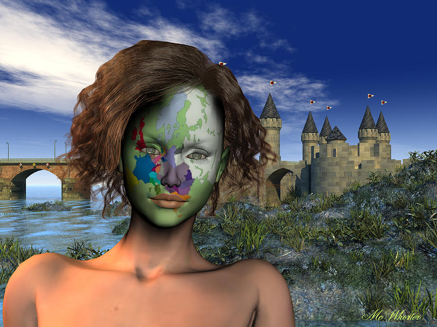 3d Painting - Diversity - Europe by Williem McWhorter