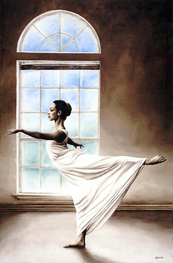 Dance Painting - Divine Grace by Richard Young