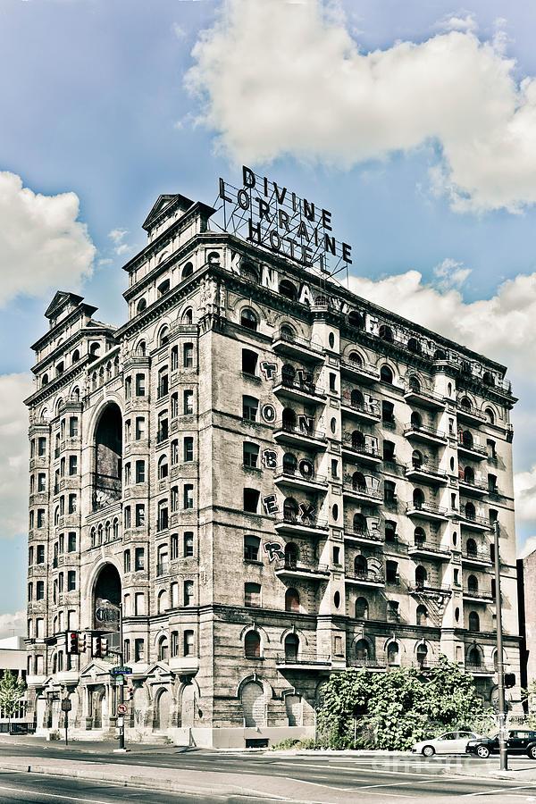 Divine Lorraine Photograph - Divine Lorraine Hotel by Stacey Granger