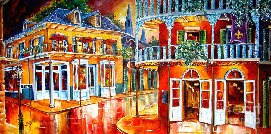 New Orleans Painting - Divine New Orleans by Diane Millsap