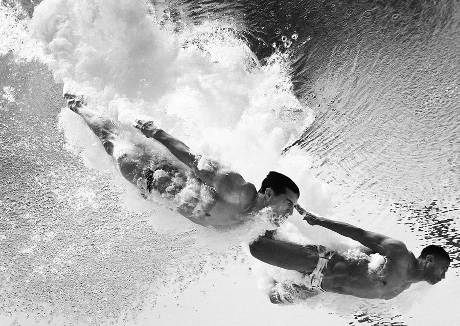 Diving - 16th Fina World Championships Photograph by Adam Pretty
