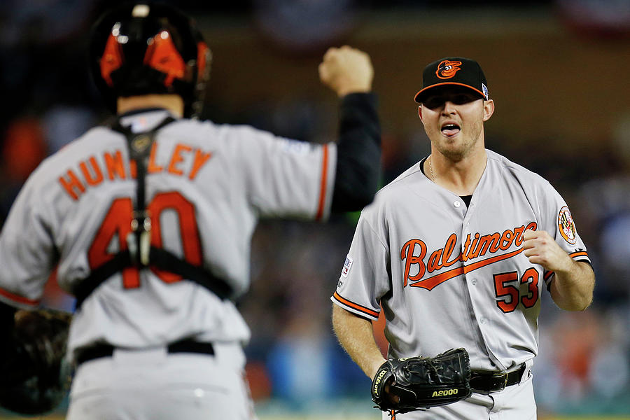Division Series - Baltimore Orioles V Photograph by Gregory Shamus