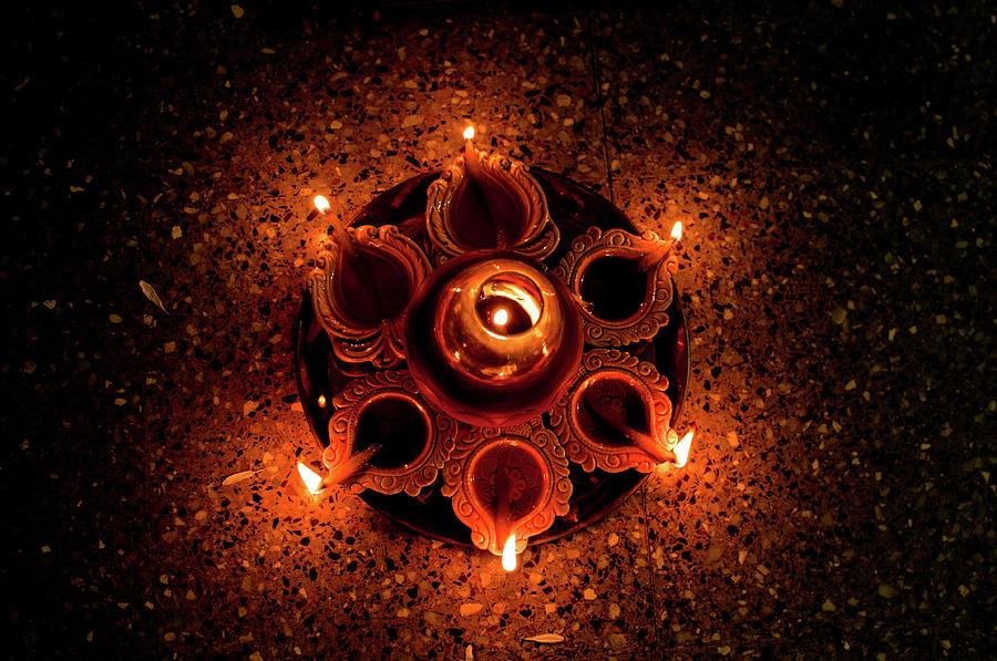 Diwali 2012 Photograph by Goutam Majumder