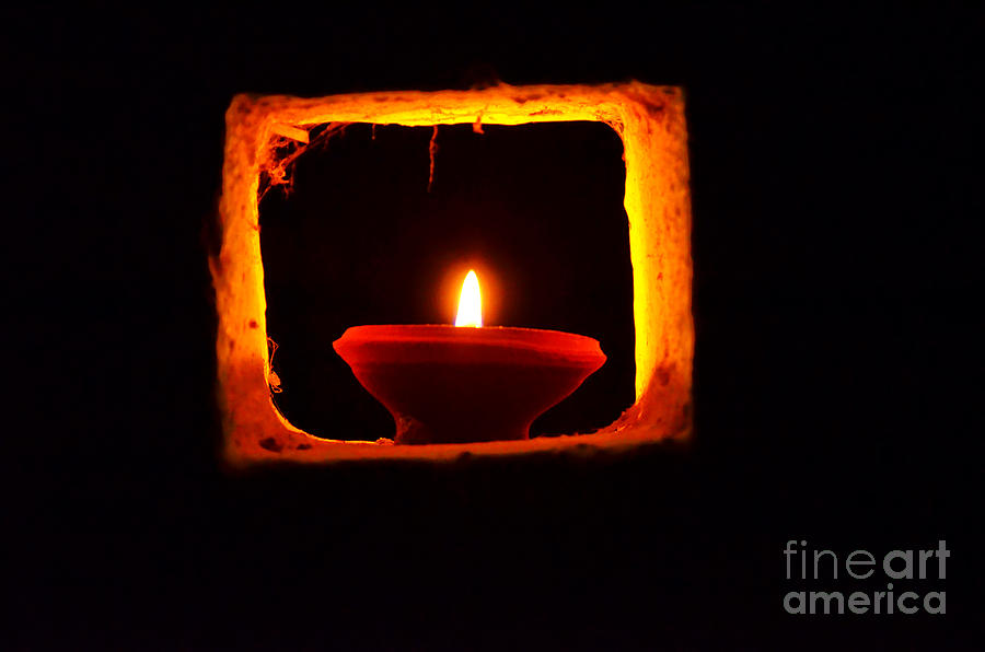 Diwali Candles Photograph By Image World