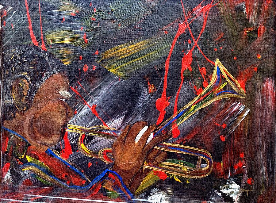 Dizzy Blowin' by Terry Boykin