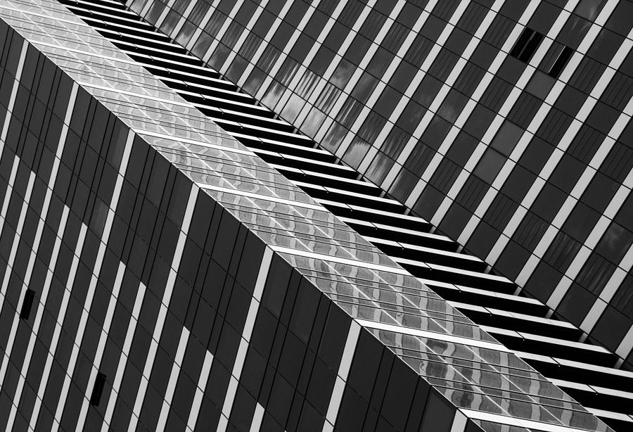 Architecture Photograph - Dizzy by Jacqueline Hammer