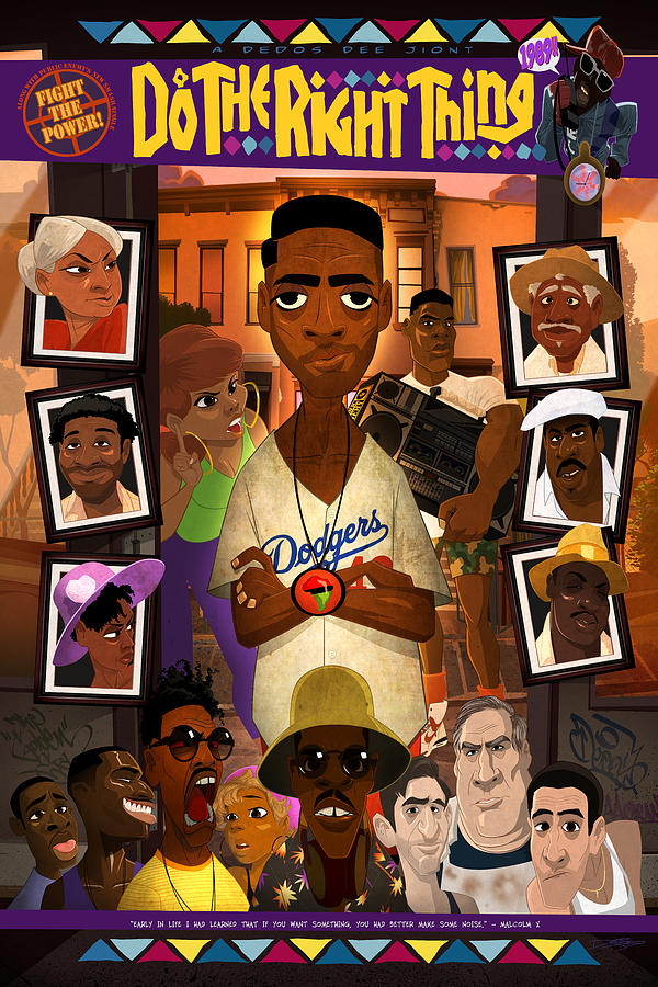 Do The Right Thing Digital Art By Nelson Dedos Garcia