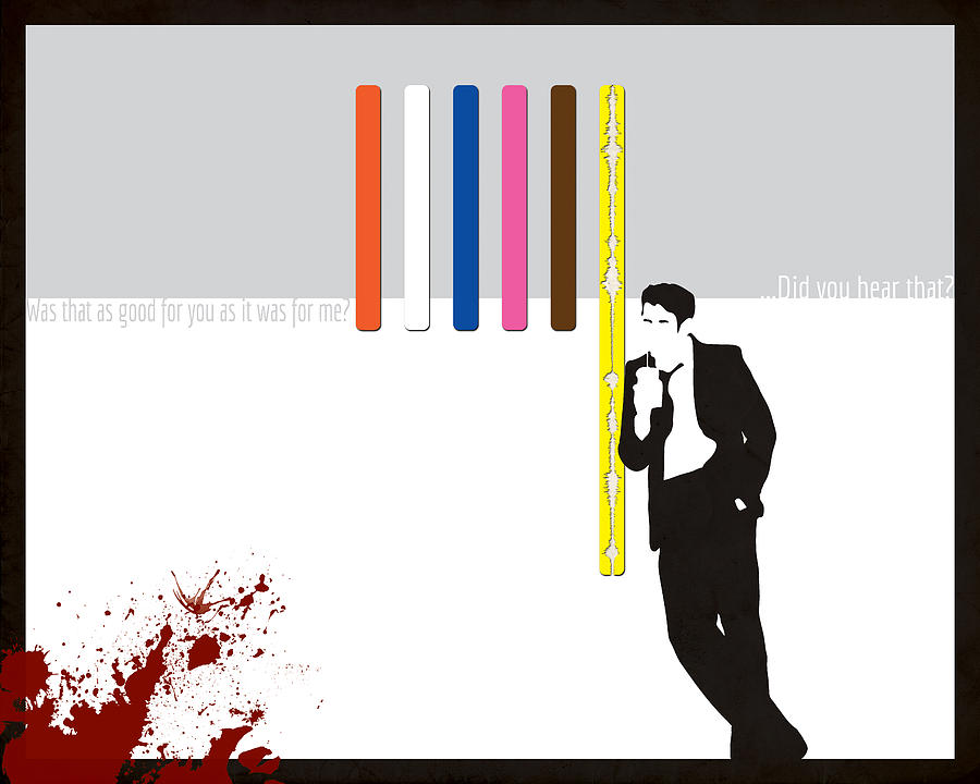 Reservoir Dogs Mixed Media - Do You Hear That by Dak Mannella