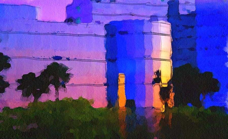 Skyline Digital Art - Do You Want To Work Here? by Yury Malkov