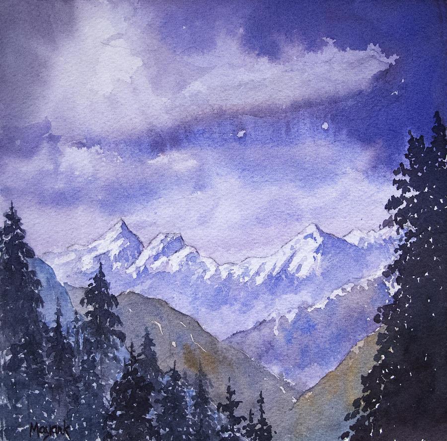 Dobhi Peaks by Mayank M M Reid