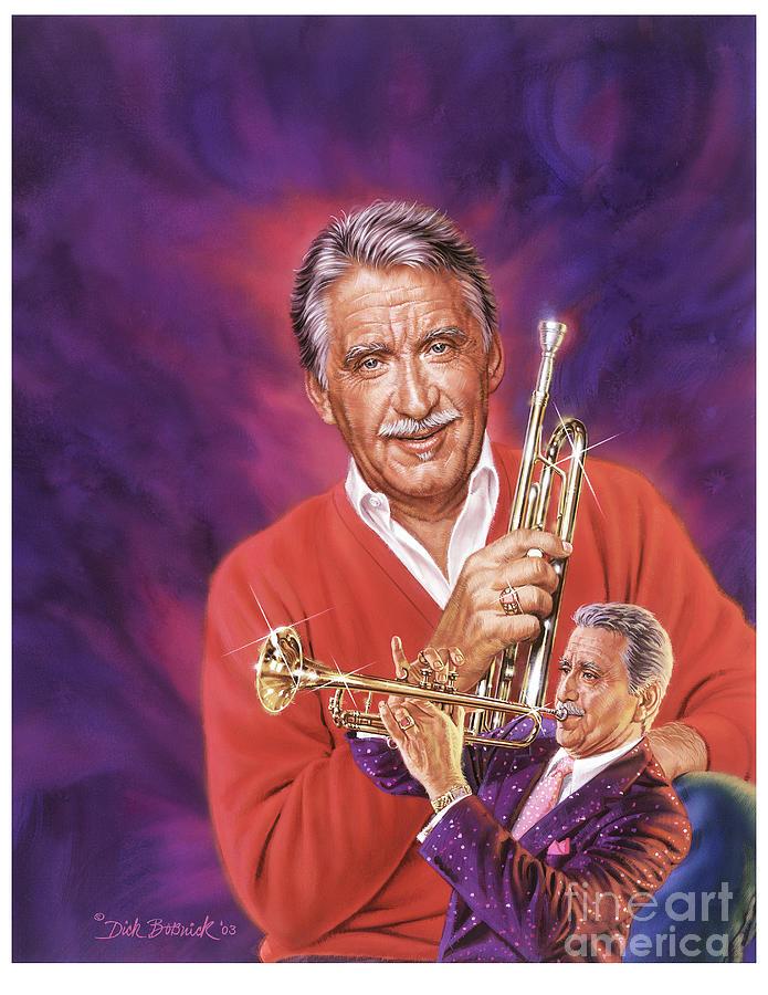 Portrait Painting - Doc Severinsen by Dick Bobnick