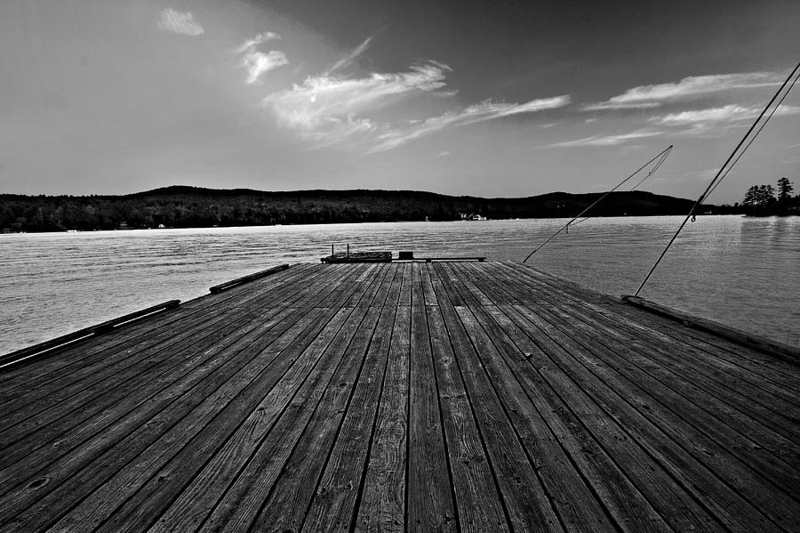 Dock Photograph - Dock by Christopher Meade