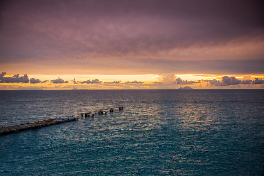 Seascape Photograph - Dock In The Bay by Paul Johnson