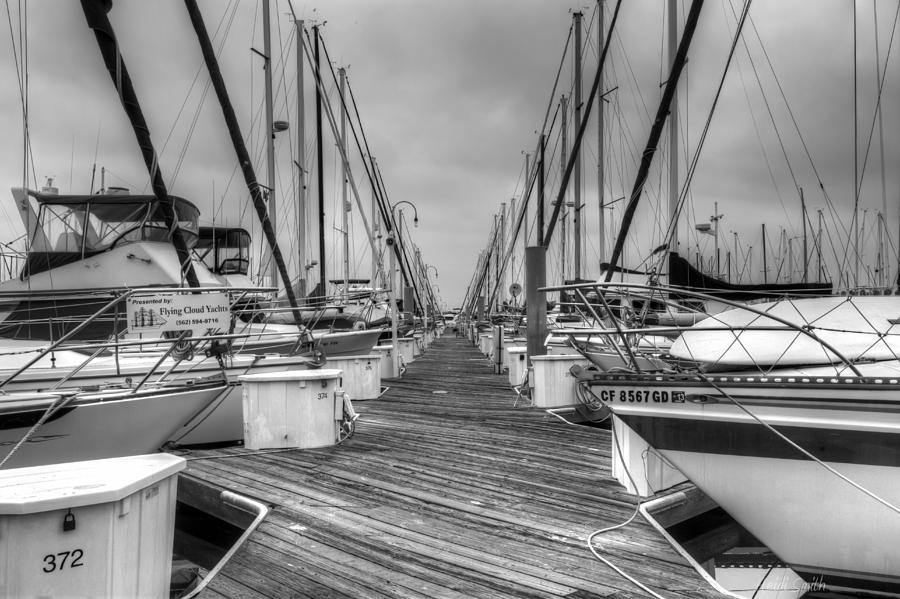 Alone Photograph - Dock Life by Heidi Smith