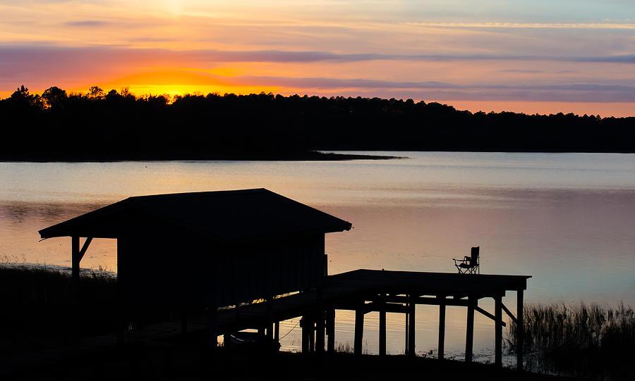Dock Sunset by Parker Cunningham
