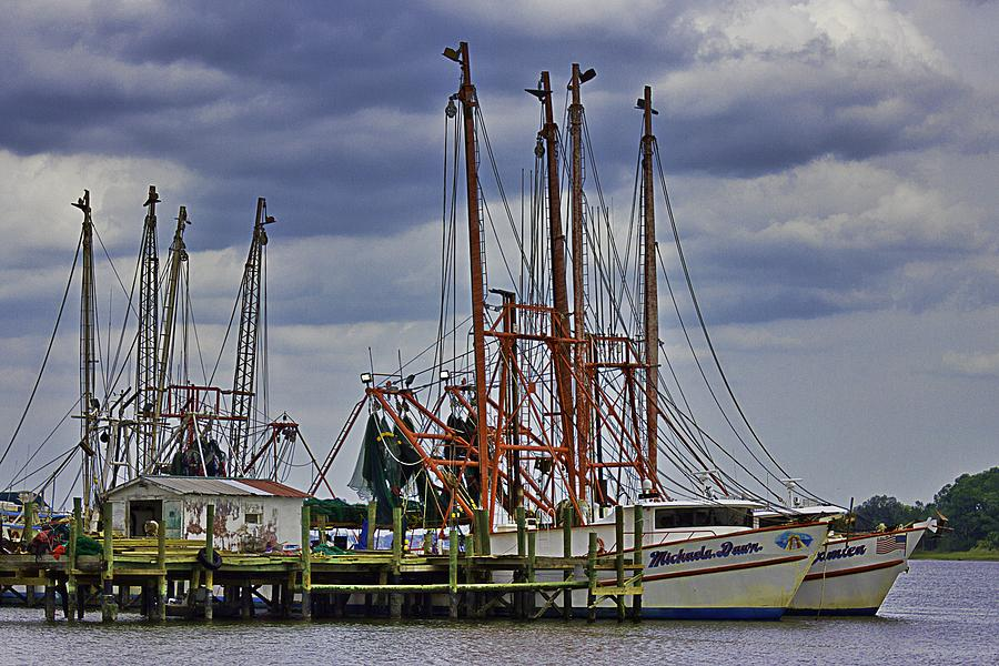 Dock Photograph - Dock Work by Barry Jones