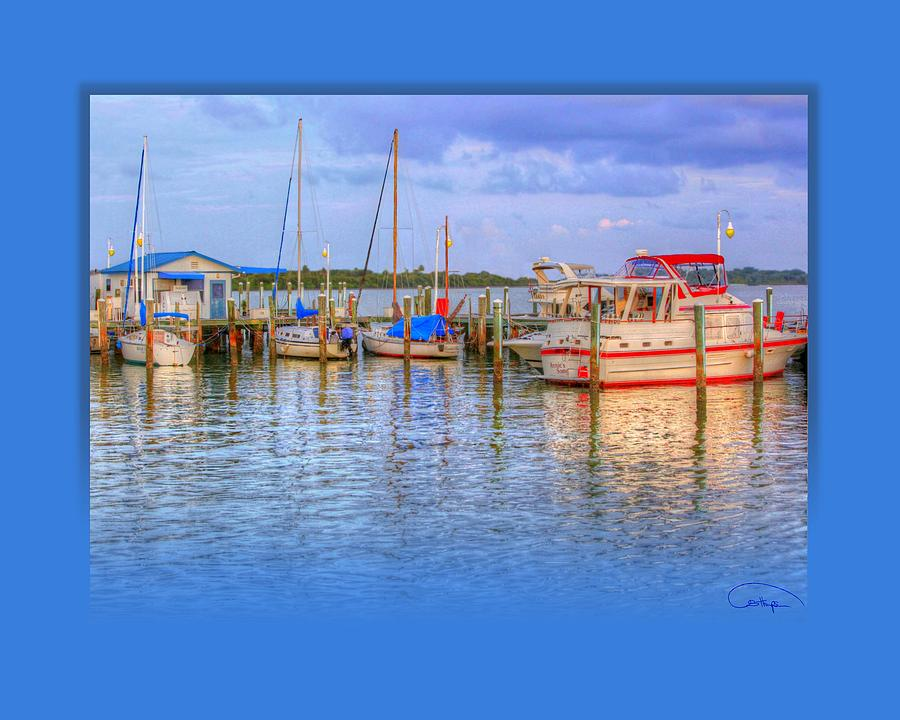 Boat Photograph - Docked For The Day by Tammy Thompson