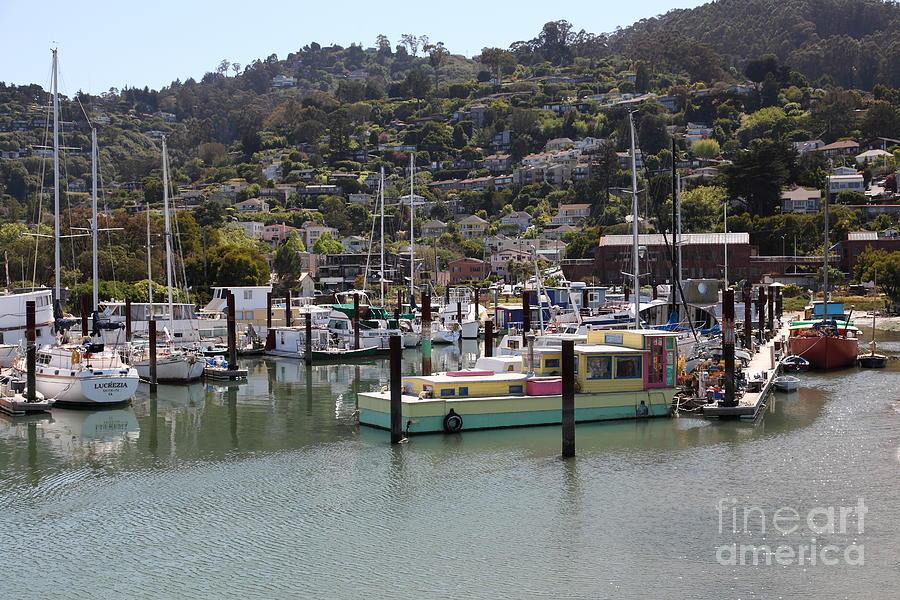 Sausalito Photograph - Docks At Sausalito California 5d22697 by Wingsdomain Art and Photography