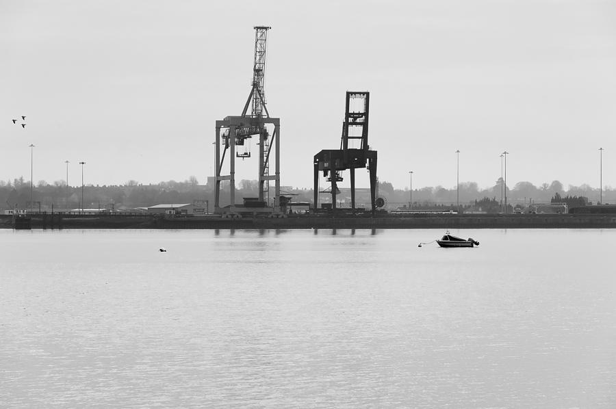 Bay Photograph - Docks by Svetlana Sewell