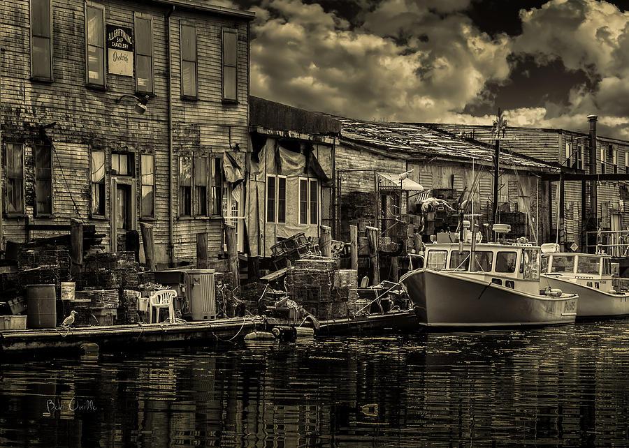 Dock Photograph - Dockside  by Bob Orsillo