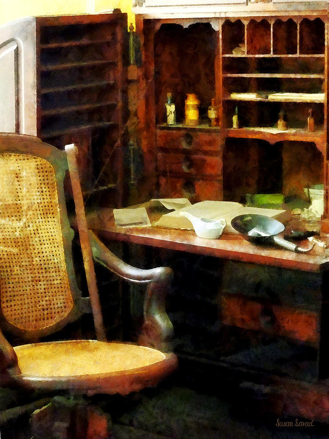 Druggist Photograph - Doctor - Doctors Office by Susan Savad