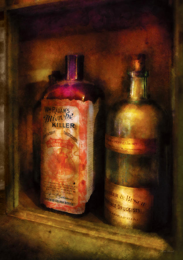 Medicine Photograph - Doctor - Microbe Killer by Mike Savad