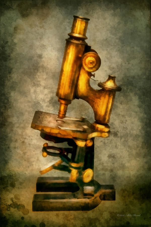 Medicine Photograph - Doctor - Microscope - The Start Of Modern Science by Mike Savad