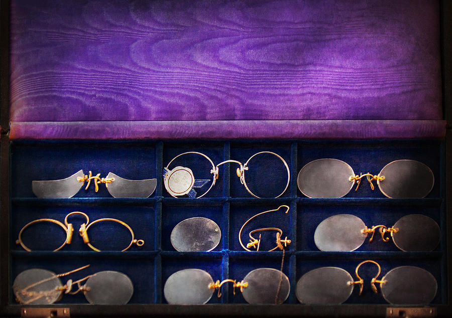 Doctor Photograph - Doctor - Optometrist - Many Styles To Choose From  by Mike Savad