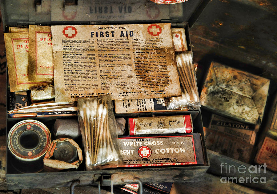 doctor the first aid kit photograph by paul ward